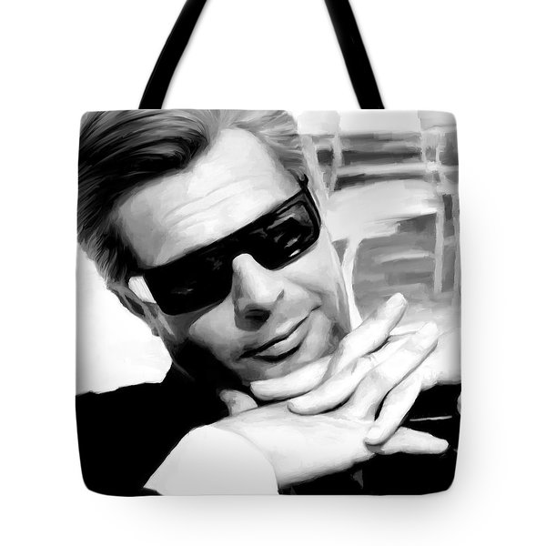 Marcello Mastroianni Portrait Tote Bag
