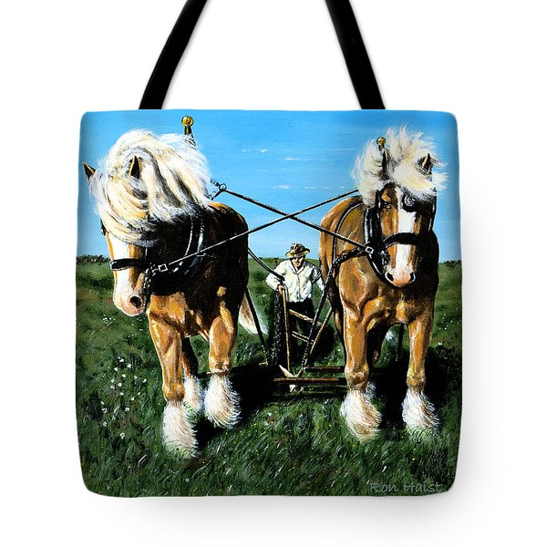 March Break Tote Bag by Ron Haist