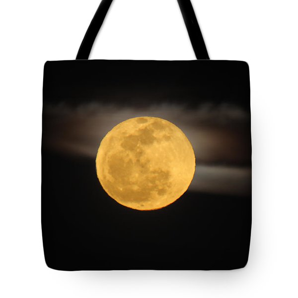 March Full Moon Tote Bag