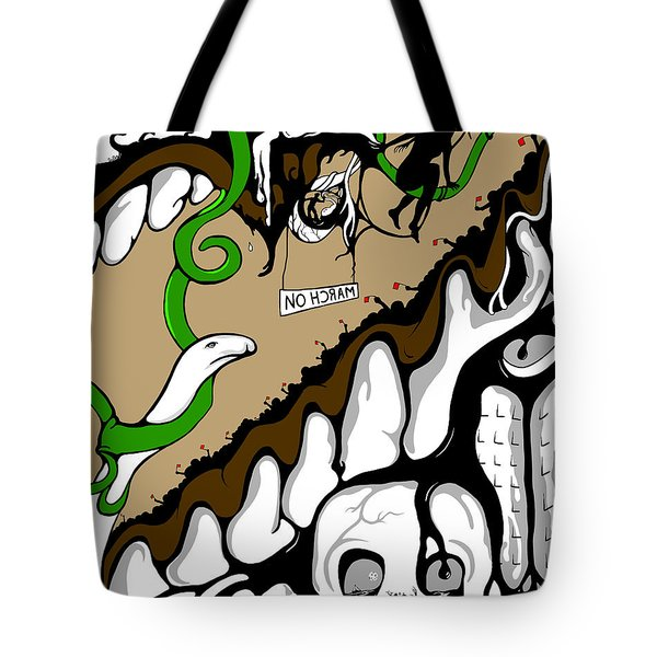 March On Tote Bag