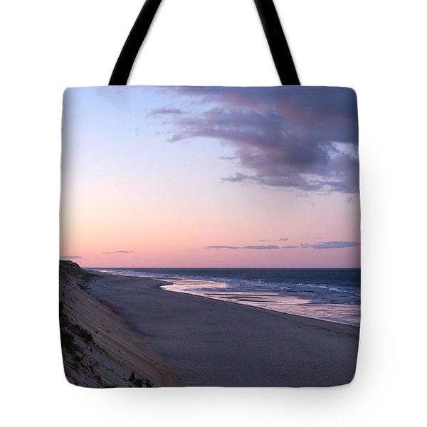 Marconi Beach At Dusk Tote Bag