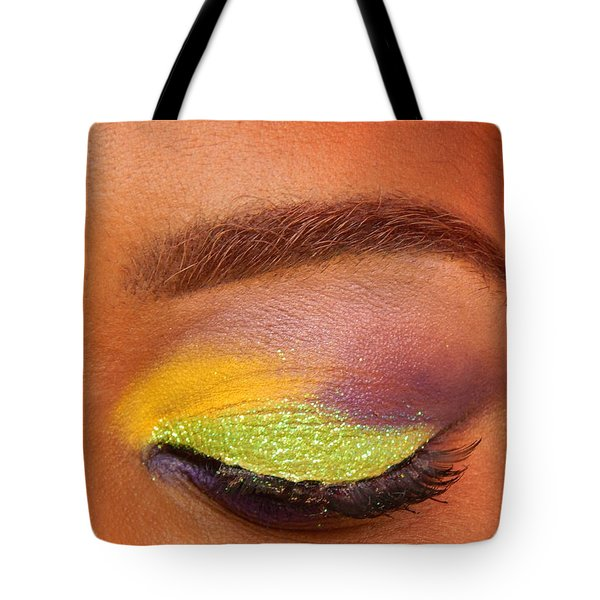 Mardi Gras 2014 Eye See Colors Of Mardi Gras Tote Bag