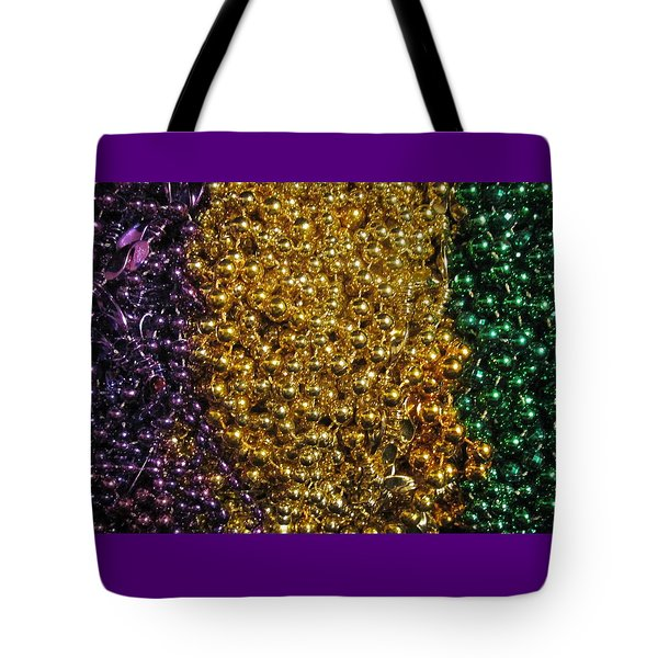 Mardi Gras Beads - New Orleans La Tote Bag