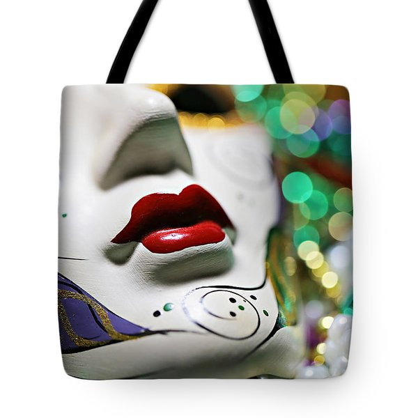 Mardi Gras II Tote Bag by Trish Mistric