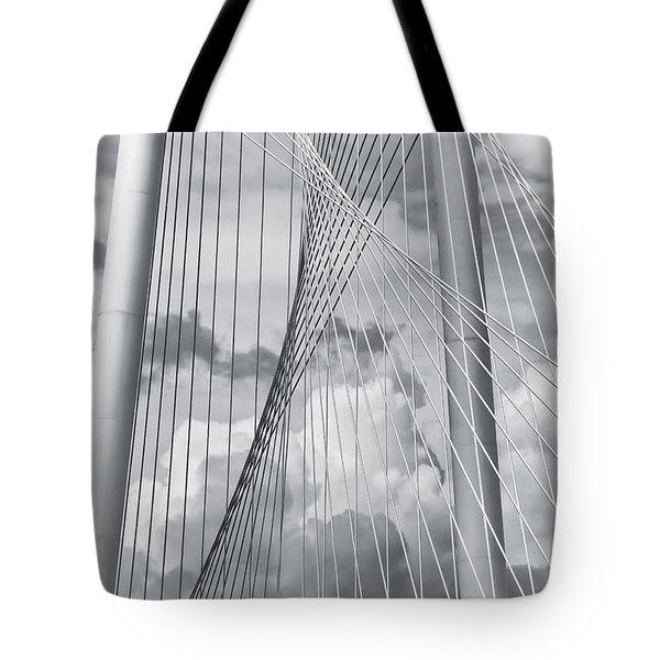 Margaret Hunt Hill Bridge Tote Bag