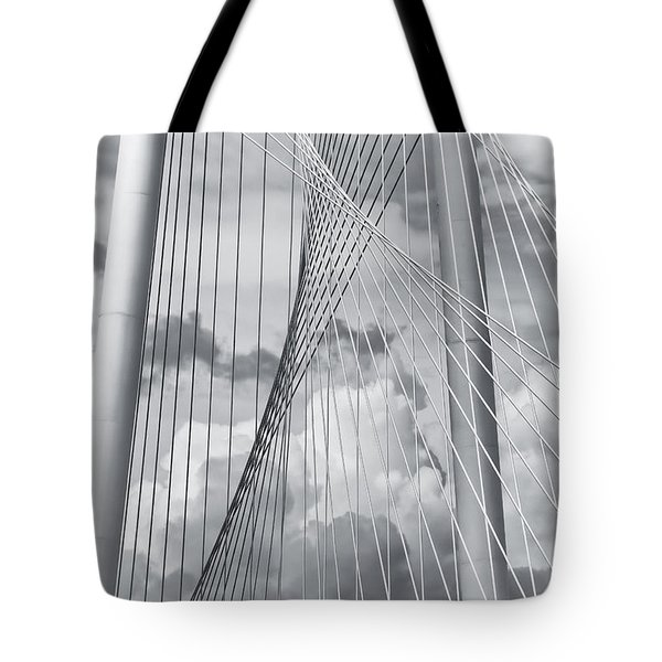 Margaret Hunt Hill Bridge Tote Bag