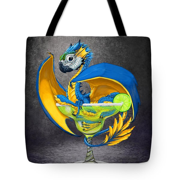 Margarita Dragon Tote Bag