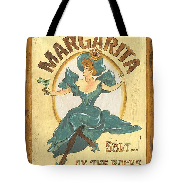 Margarita Salt On The Rocks Tote Bag