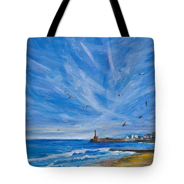 Margate Skies Tote Bag