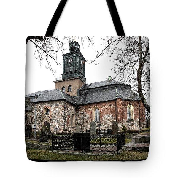 Maria Church Enkoeping From South Leif Sohlman Tote Bag