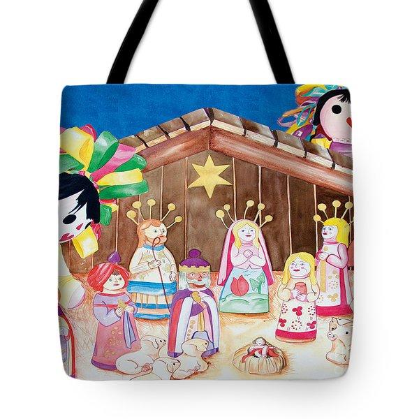 Maria Sofia And The Nativity Tote Bag