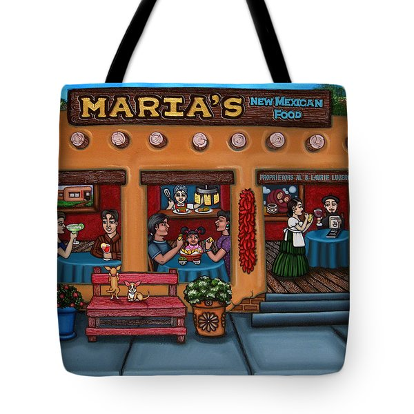 Maria's New Mexican Restaurant Tote Bag