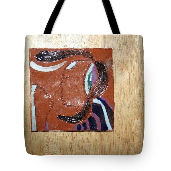 Maribel - Tile Tote Bag by Gloria Ssali