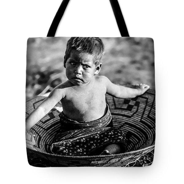 Maricopa Child Circa 1907 Tote Bag