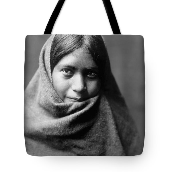 Maricopa Indian Woman Circa 1907 Tote Bag