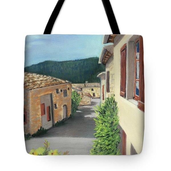Marignac-en-diois Tote Bag by Anastasiya Malakhova