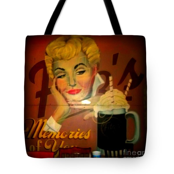 Marilyn And Fitz's Tote Bag by Kelly Awad