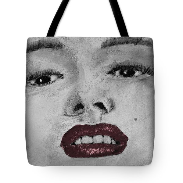Marilyn Tote Bag by David Patterson