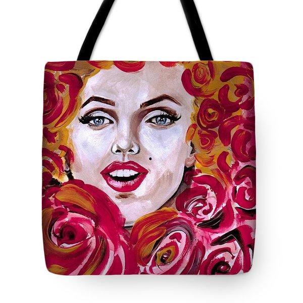 Marilyn Mon-rose Timeless Beauty Tote Bag