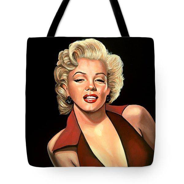 Marilyn Monroe 4 Tote Bag by Paul Meijering