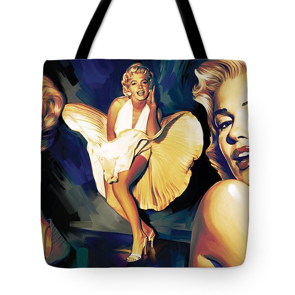Marilyn Monroe Artwork 3 Tote Bag