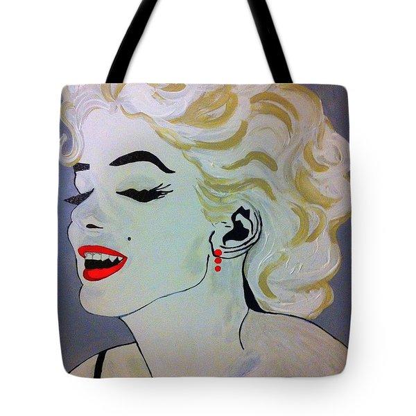 Marilyn Monroe Beautiful Tote Bag