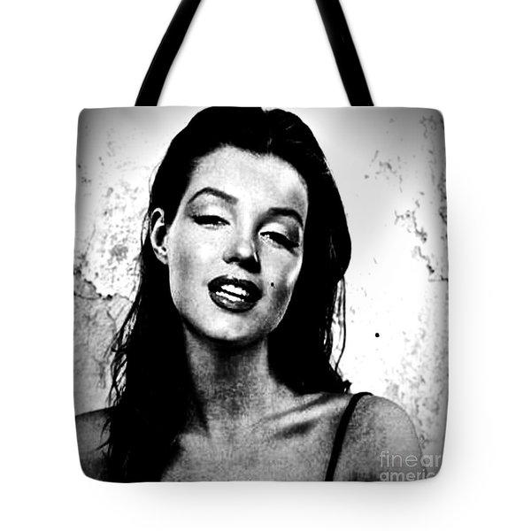 Marilyn Monroe--brunette Tote Bag