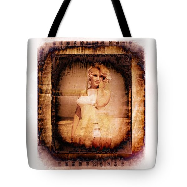 Marilyn Monroe Film Tote Bag