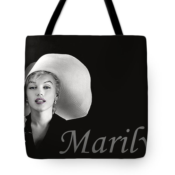 Marilyn Monroe Tote Bag by Gary Baird