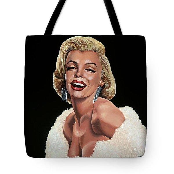Marilyn Monroe Tote Bag by Paul Meijering
