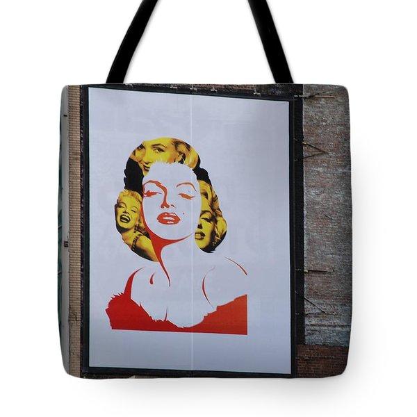 Marilyn Monroe Tote Bag by Rob Hans