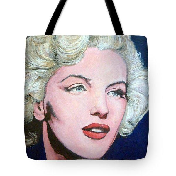 Marilyn Monroe Tote Bag by Tom Roderick