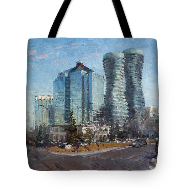Marilyn Monroe Towers Tote Bag