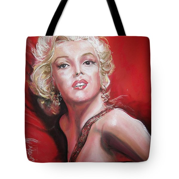 Marilyn Tote Bag by Peter Suhocke