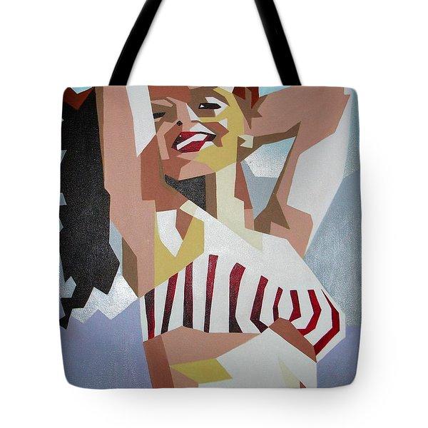 Marilyn Tote Bag by Tracey Harrington-Simpson