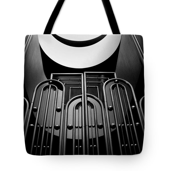 Marin County Government Complex Gate Tote Bag by Jeff Brunton