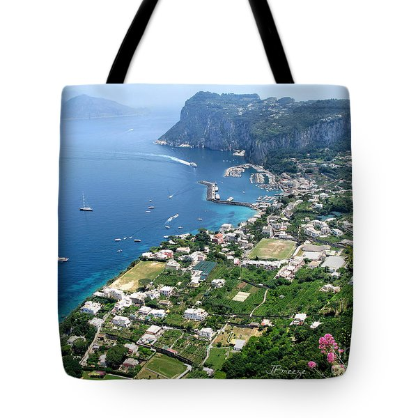 Marina Grande Anacapri Tote Bag