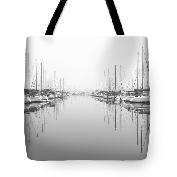 Tote Bag featuring the photograph Marina - High Key by Heidi Smith