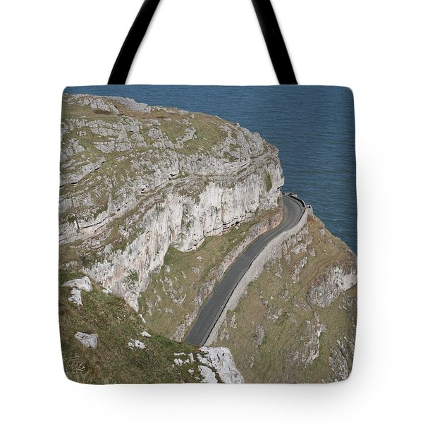 Tote Bag featuring the photograph Marine Drive by Christopher Rowlands