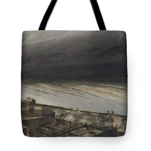 Marine Terrace In Jersey Tote Bag by Victor Hugo