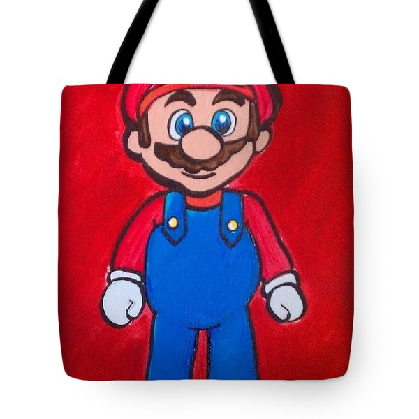 Mario Tote Bag by Marisela Mungia