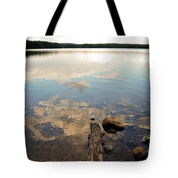 Marion Lake Reflections Tote Bag