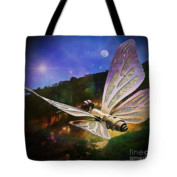 Mariposa Galactica Tote Bag