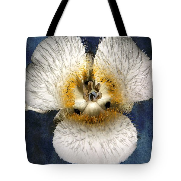 Mariposa Lily Two Tote Bag by Belinda Greb