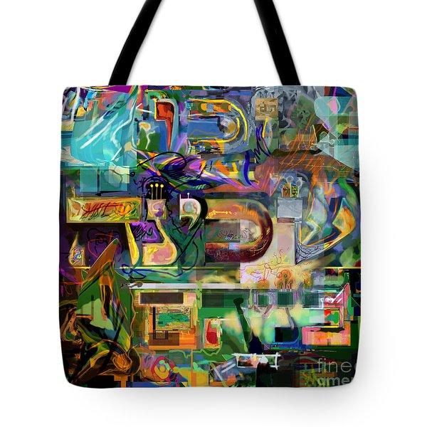 Marital Harmony 54 Tote Bag by David Baruch Wolk