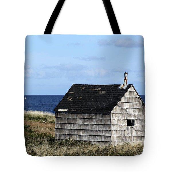 Maritime Cottage Tote Bag