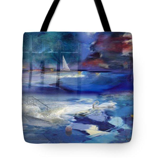 Maritime Fantasy Tote Bag