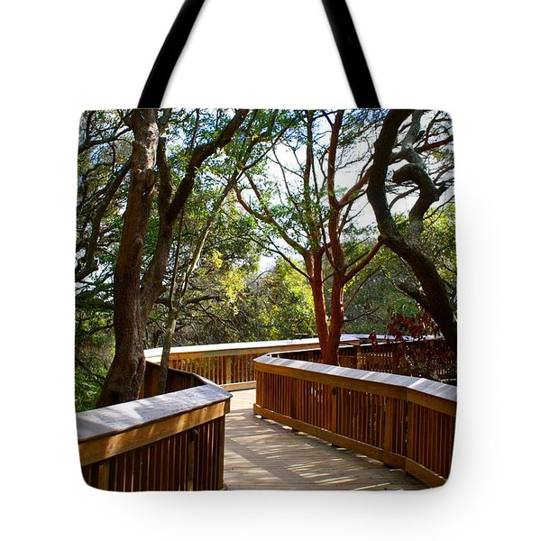 Maritime Forest Boardwalk Tote Bag