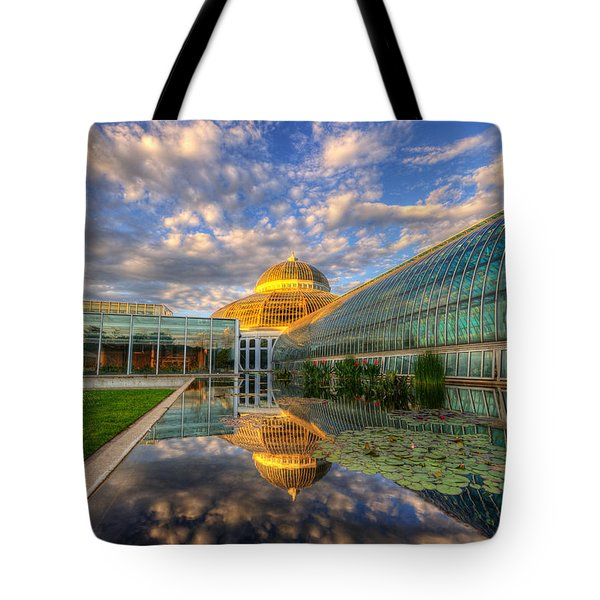 Marjorie Mcneely Conservatory Evening  Tote Bag
