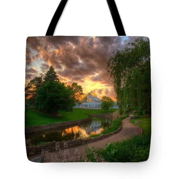 Marjorie Mcneely Conservatory Reflections Tote Bag